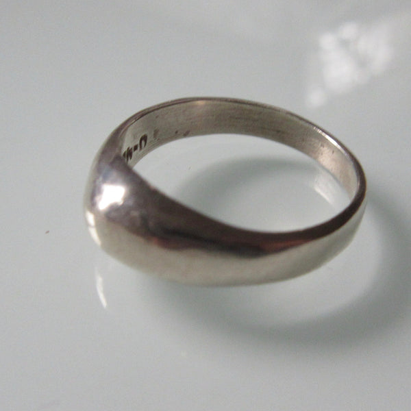 Modernist Mexican Sterling Silver Ring