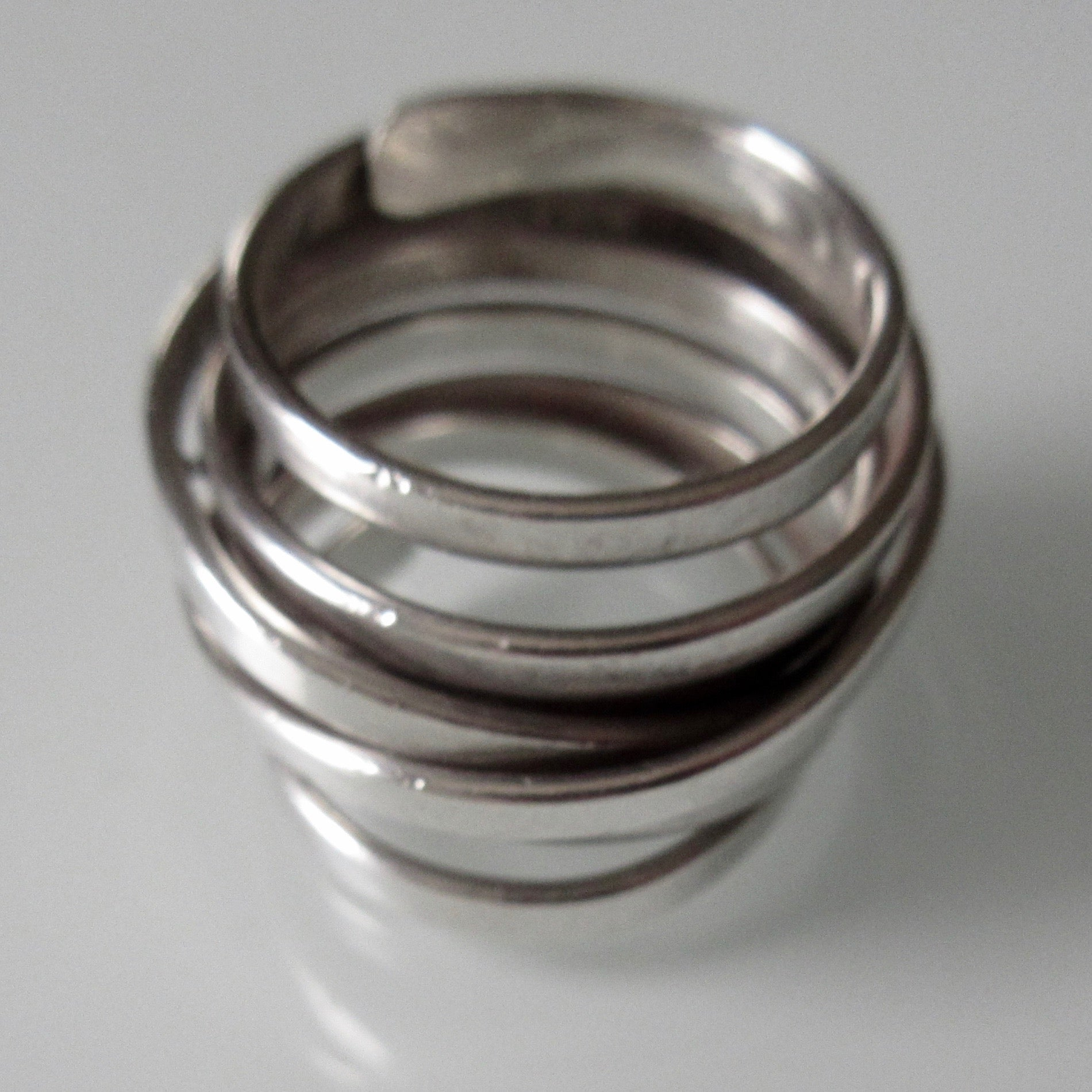 Wrapped Sterling Silver Ring