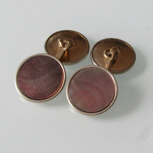 Ecco Gold Filled Cuff Links