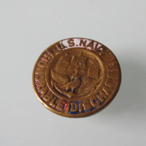 USA Copper Honourable Discharge Button