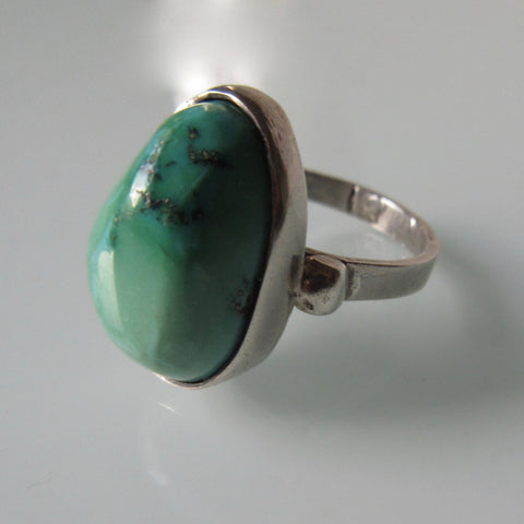 Navajo Variscite Turquoise Silver Ring