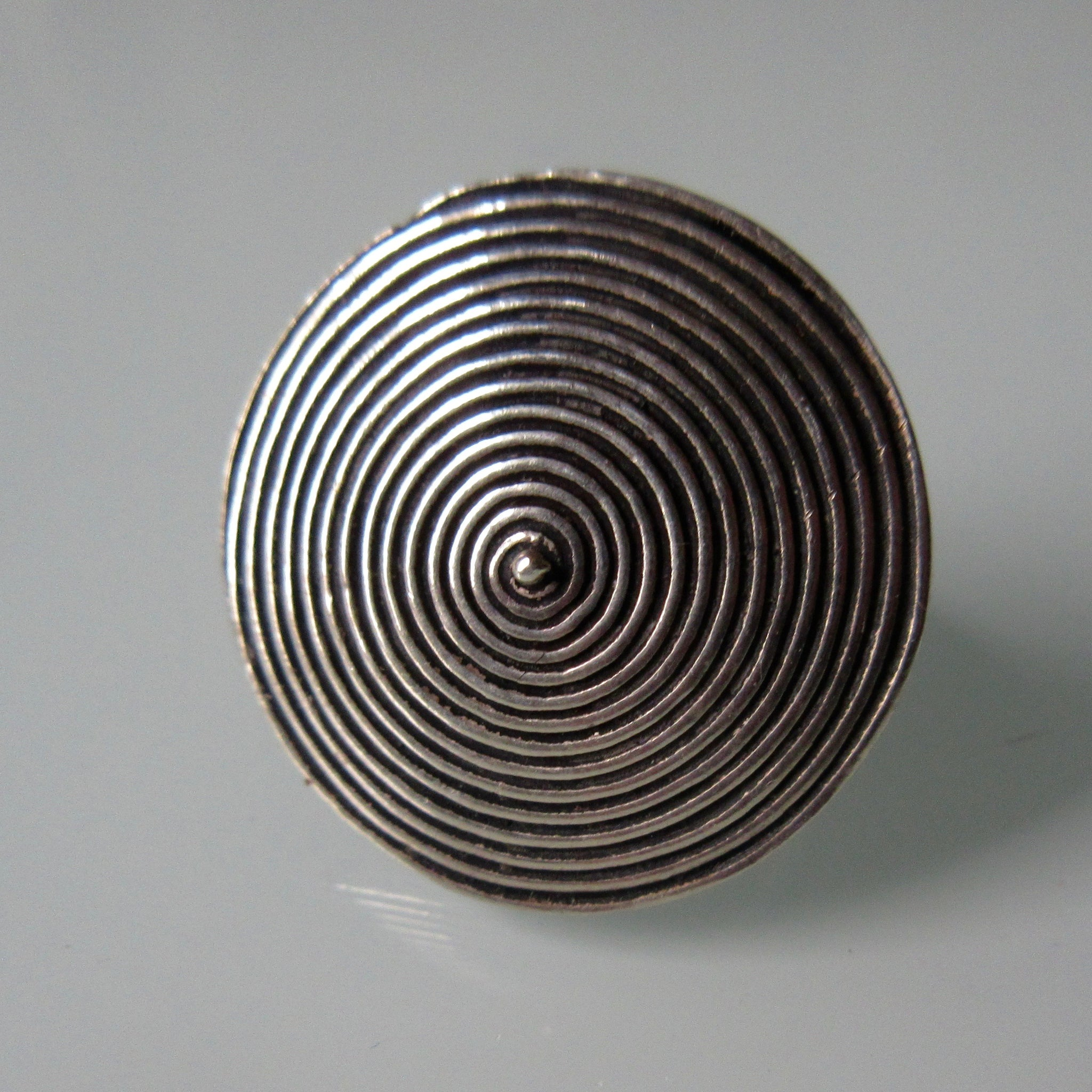 Concentric Circle Silver Ring