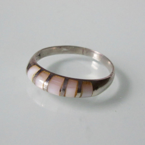 Rose Quartz Pinky Ring