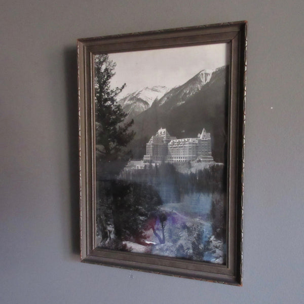 banff springs photograph