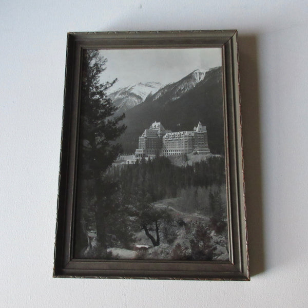 antique photo banff springs