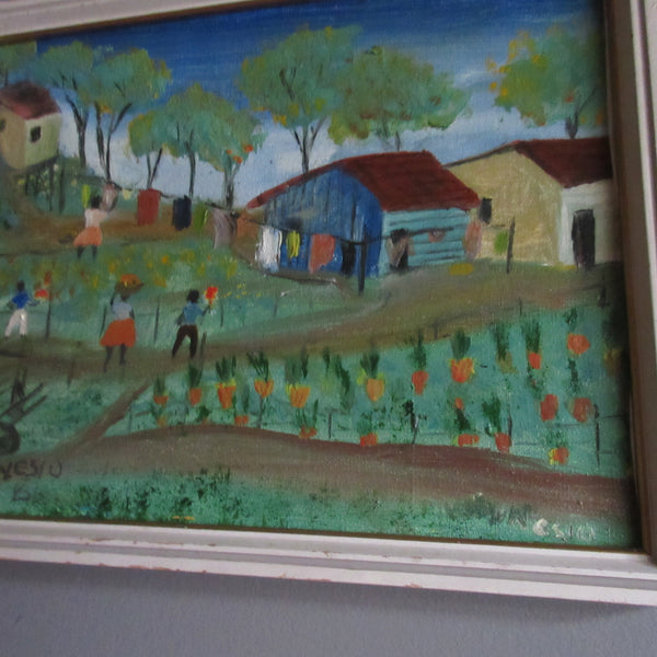 Folk Art Miniature South American