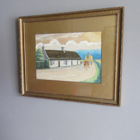 Country Scene Rural Britian Painting