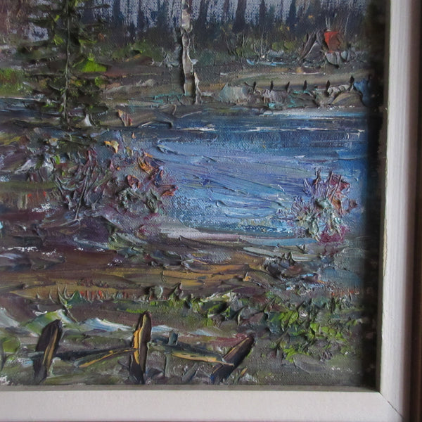 Quebec Country Painting