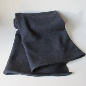Over Dyed Vintage Wool Blanket - Lavender Infused