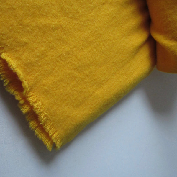 Vintage Wool Blanket Harvest Yellow