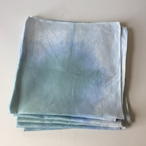 Vintage Over Dyed Napkins - Light Blue