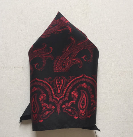 Pocket Square Silk Scarf