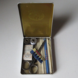 Repair Kit in Vintage Dannemann Tin