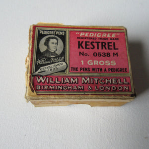 Pedigree Kestrel Pen Nibs William Mitchell
