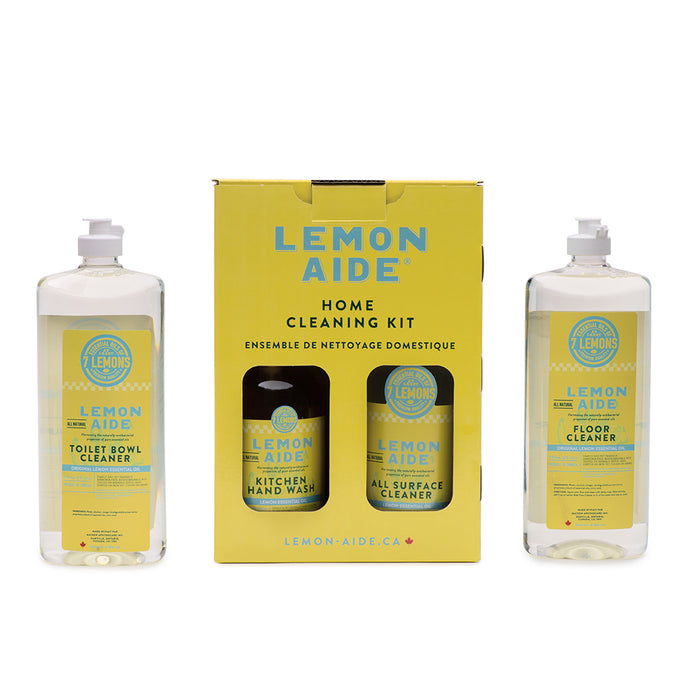 Home Cleaning Kit (Lemon Formula)