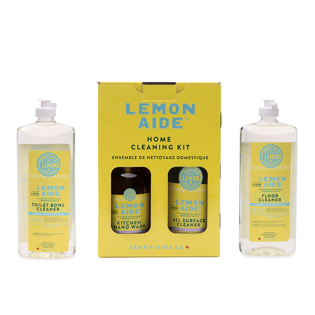 Home Cleaning Kit (Lemon & Lavender Formula)