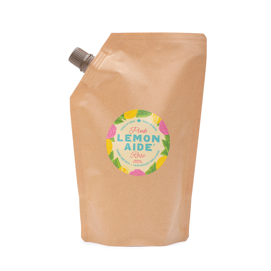Pink Lemon Aide Foaming Hand Wash - Refill Pouch