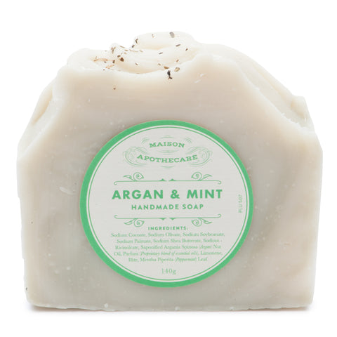 Handmade Soap Bar - Argan & Mint