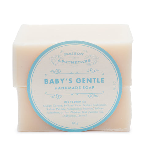 Handmade Soap Bar - Baby's Gentle