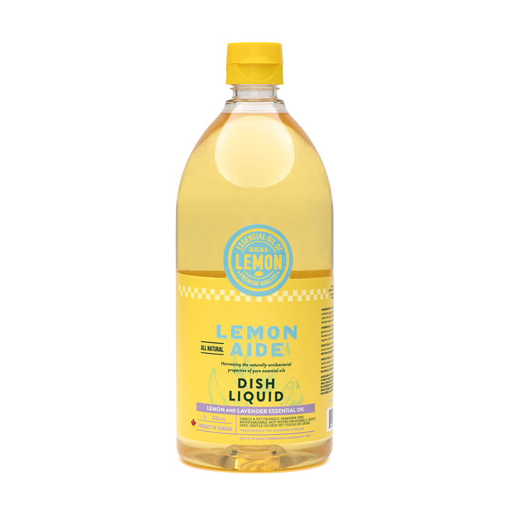Lemon Aide - Lemon & Lavender Dish Liquid 1L