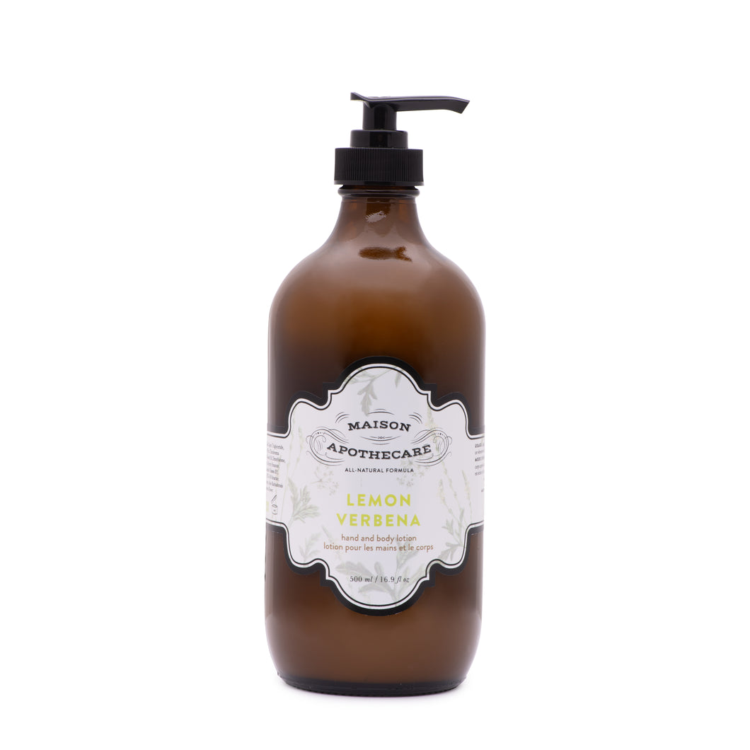 Lemon Verbena Hand and Body Lotion - 500ml