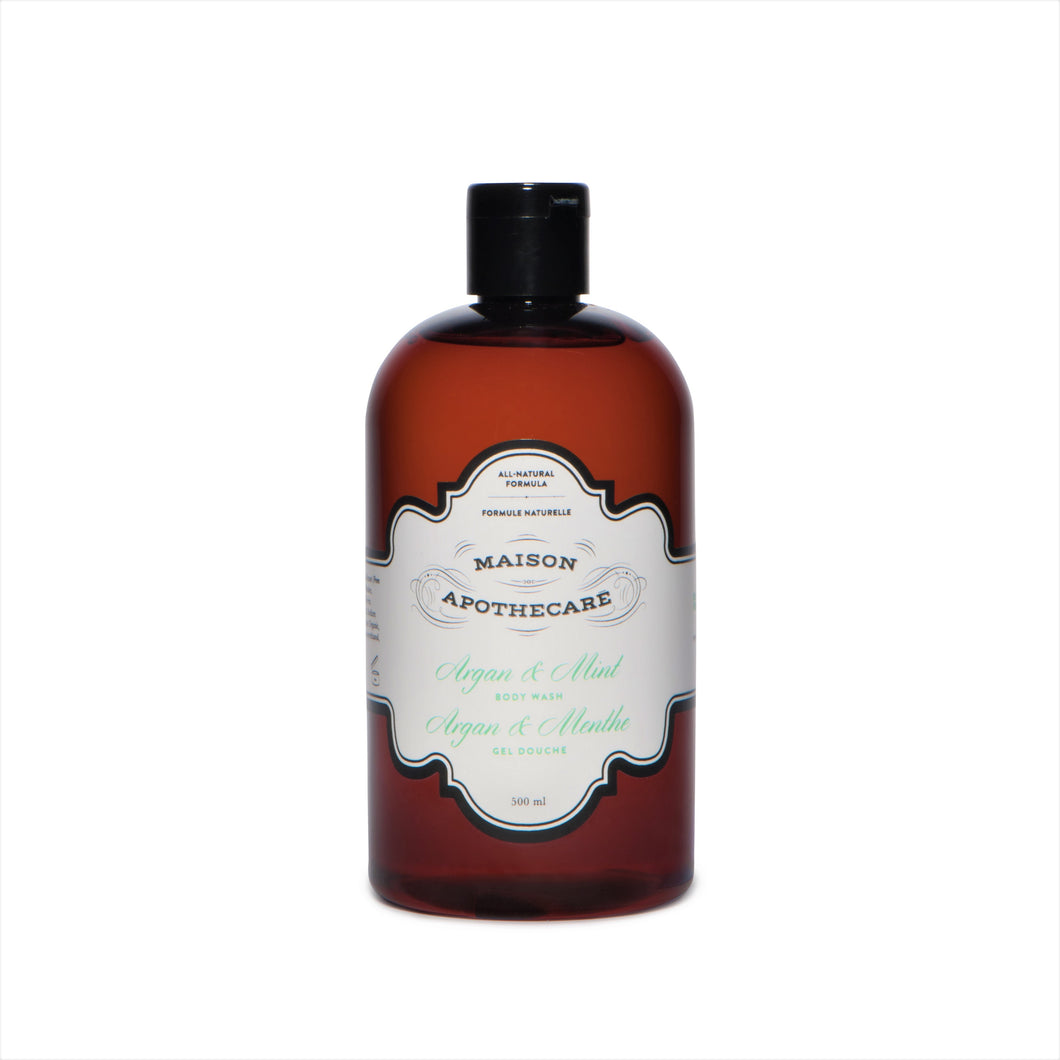 Body Wash Argan & Mint
