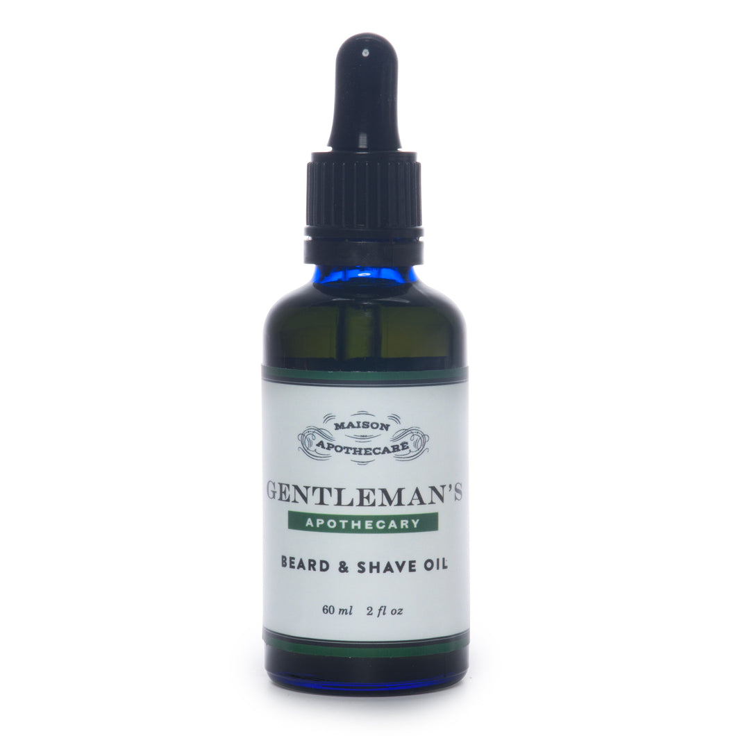 Gentleman's Apothecary Beard and Shave Oil