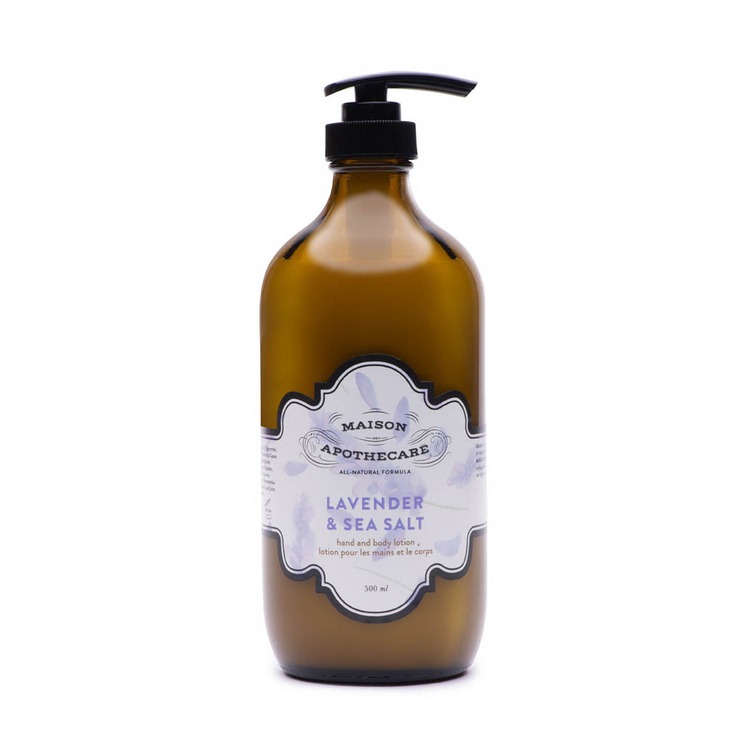 Lotion - Lavender & Sea Salt Hand and Body Lotion