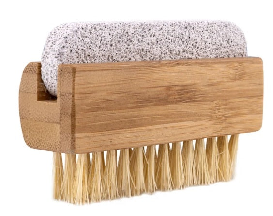 Accessory - Tampico Nail Brush With Pumice Stone