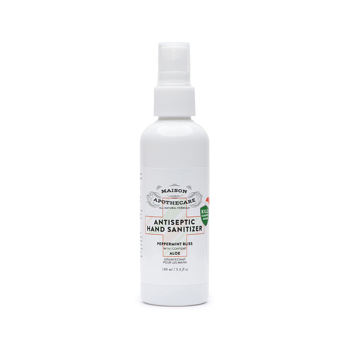Antiseptic Hand Sanitizer - Peppermint Bliss (100ml) - Single