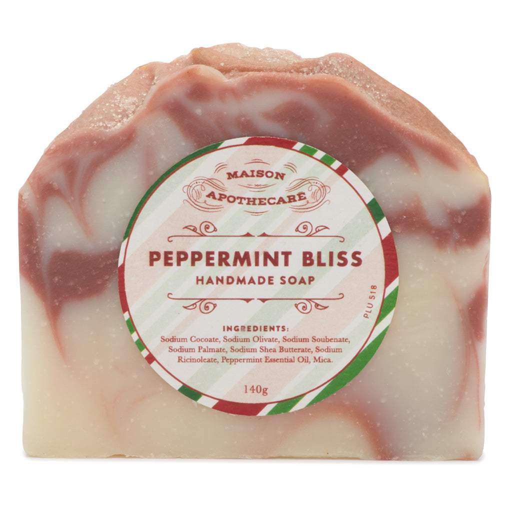 Handmade Soap Bar - Peppermint Bliss (Limited Edition)