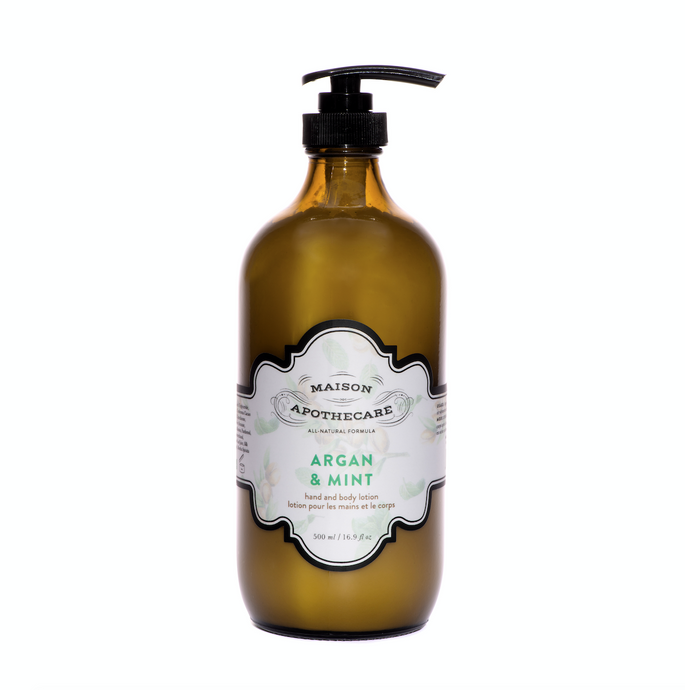 Lotion - Argan & Mint Hand and Body Lotion