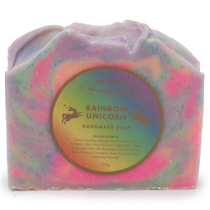 Handmade Soap Bar - Rainbow Unicorn