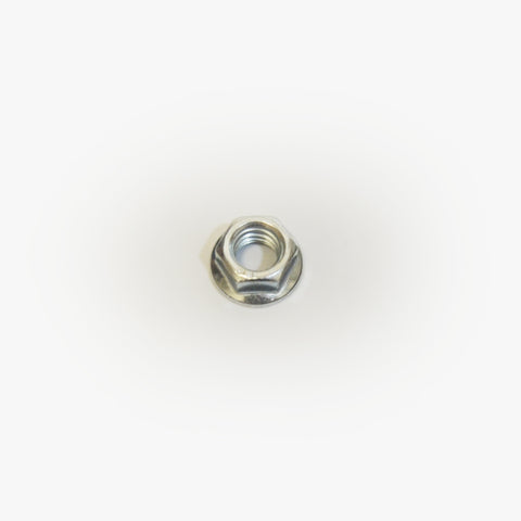 NUT-HEX .38-16 PLATED FLANGED SERRATED WASHER HEAD