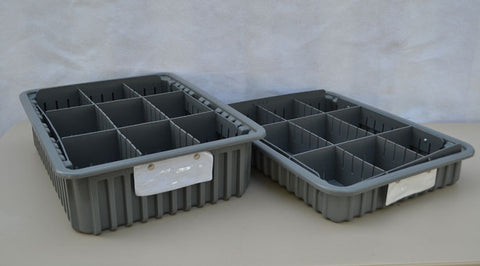 Storage Bins / Tray Kit - (12) Short (12) Tall