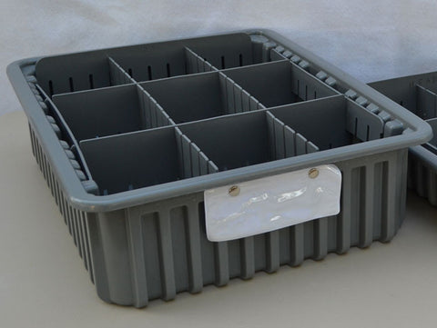 "Storage Bins / Tray - (1) Tall 6"" Tray"