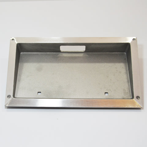 Hackney License Plate Holder (Recessed) - Cast Aluminum