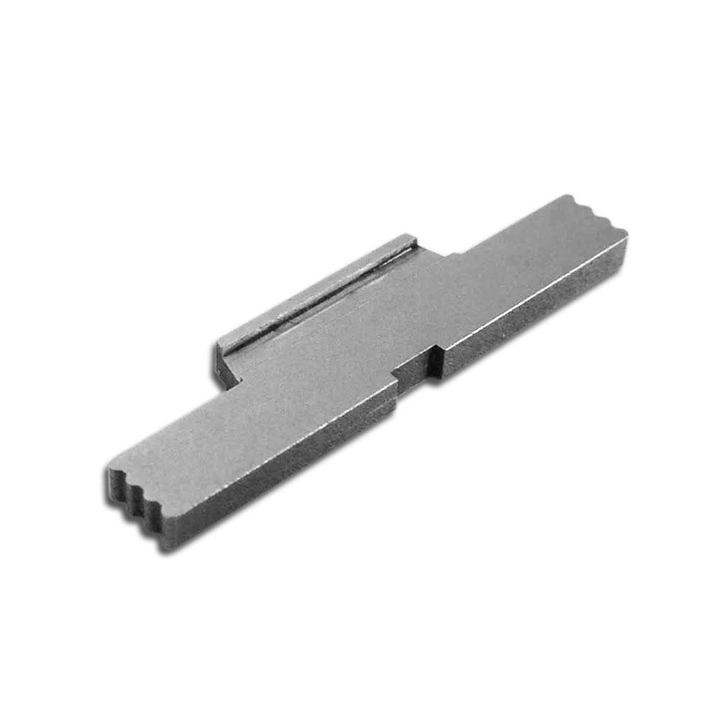 Bastion Extended Stainless Steel Slide Lock Lever For Glock Models 17-41 Gen 1-4