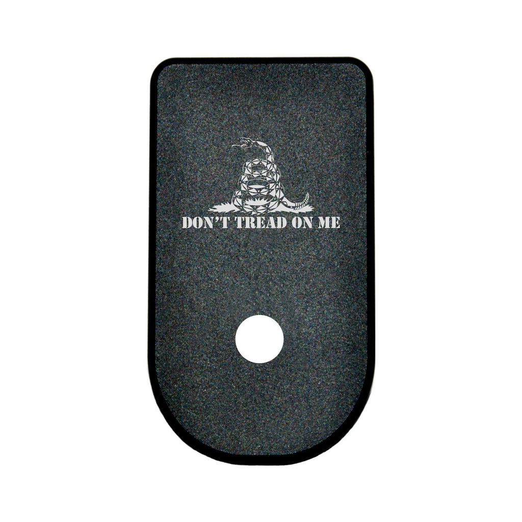MAGAZINE BASE PLATE GLOCK 43 - DON'T TREAD ON ME