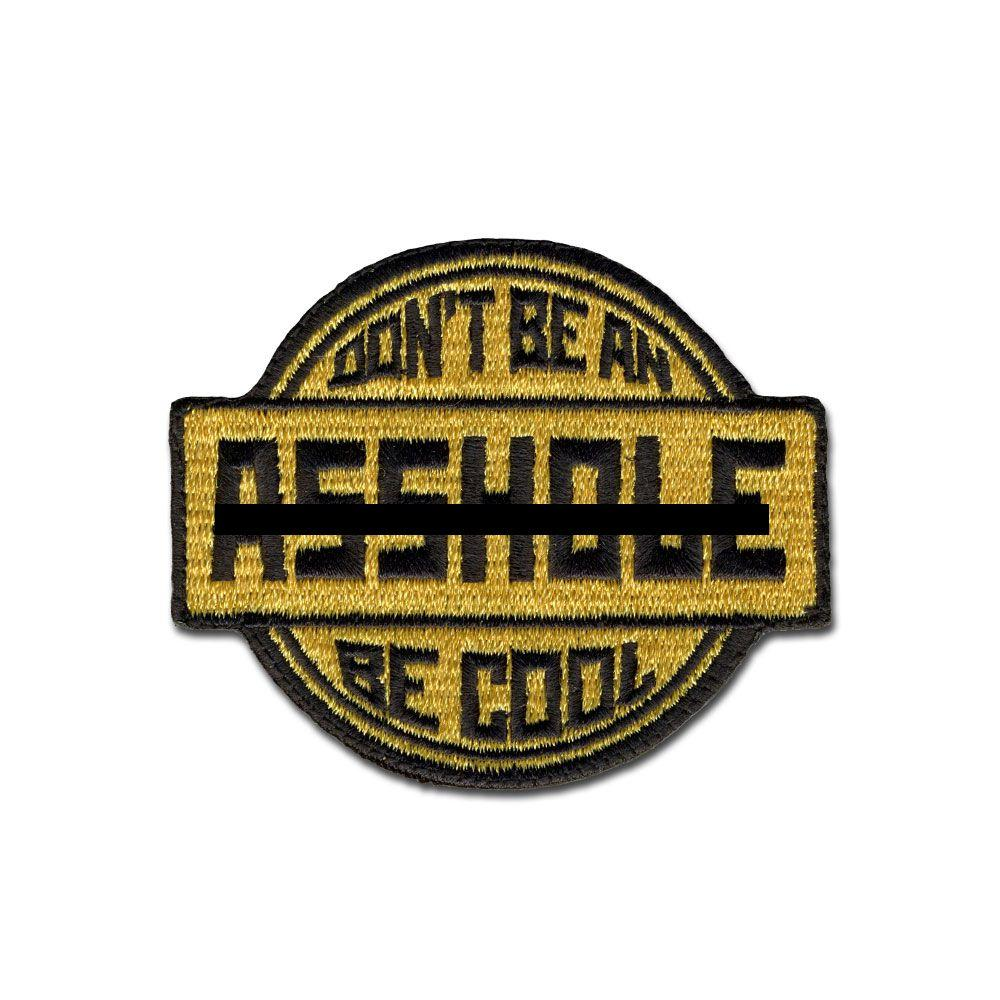 EMB MORALE PATCH - BE COOL CHOOSE COLOR
