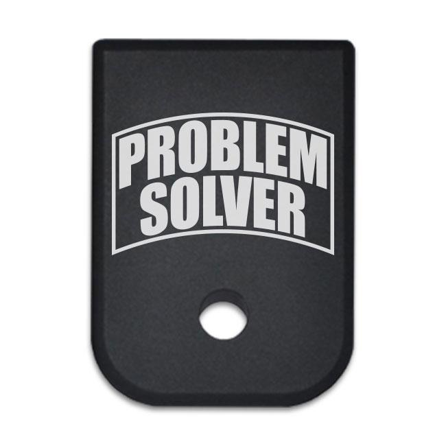 Problem Solver - For Glock 9mm .40 Cal - Magazine Base Plate, Flat