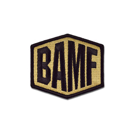 Embroidered Morale Patch - BAMF Choose Color
