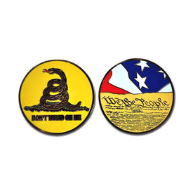 Challenge Coin - Don't Tread on Me