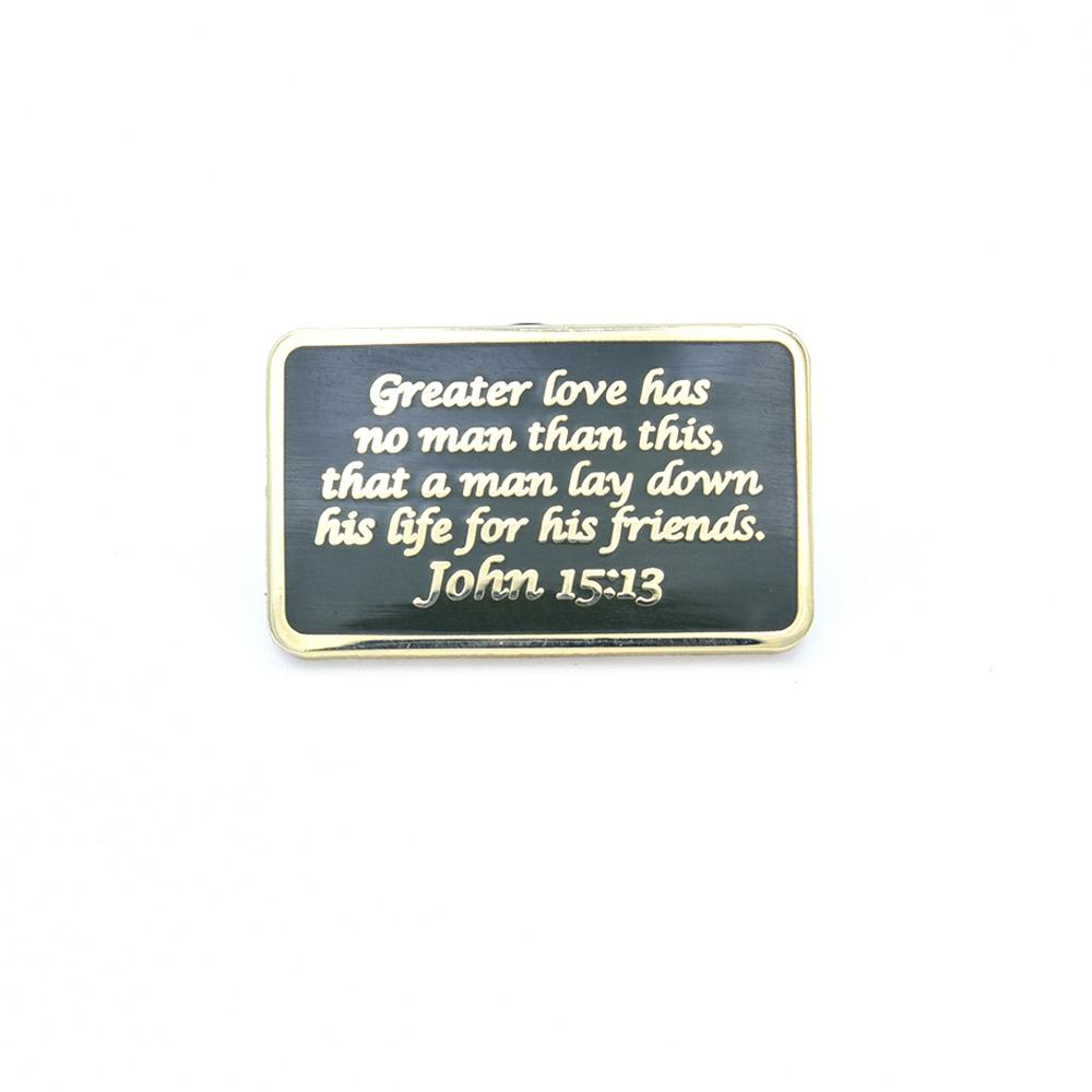 Bastion Morale Lapel Pin John 15:13 ODG