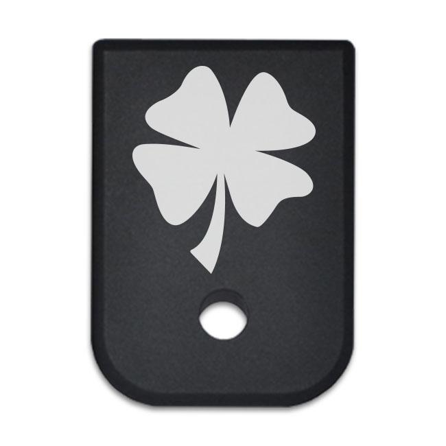 Shamrock - For Glock 9mm .40 Cal - Magazine Base Plate, Flat