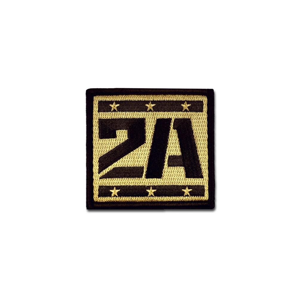 EMB MORALE PATCH - 2A SUPPORTER CHOOSE COLOR