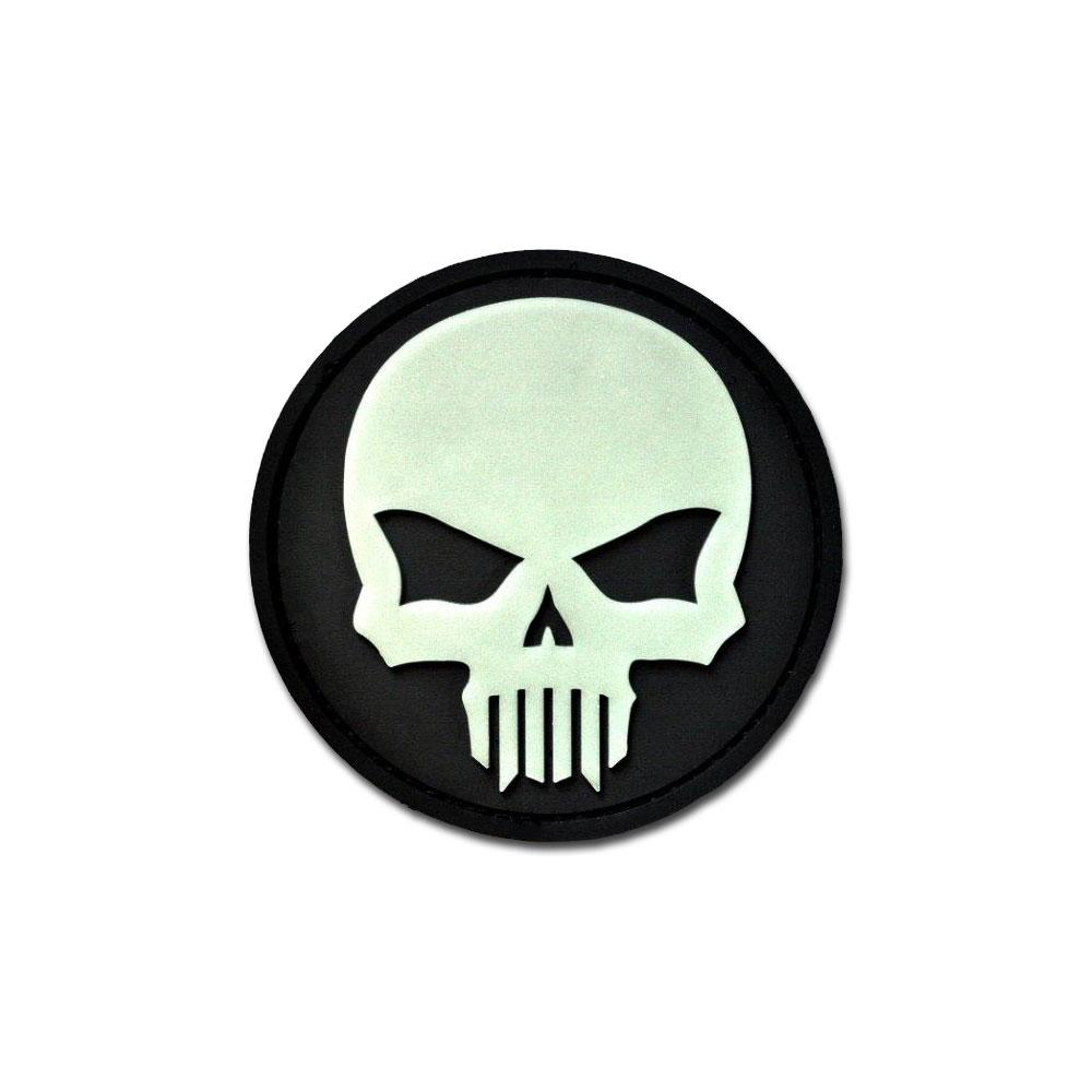 Bastion Glow Skull - PVC Morale Patch