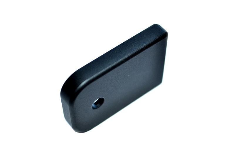 Magazine Base Plate For Glock 9mm .40 Cal - 3 Numbered Bastion Skull