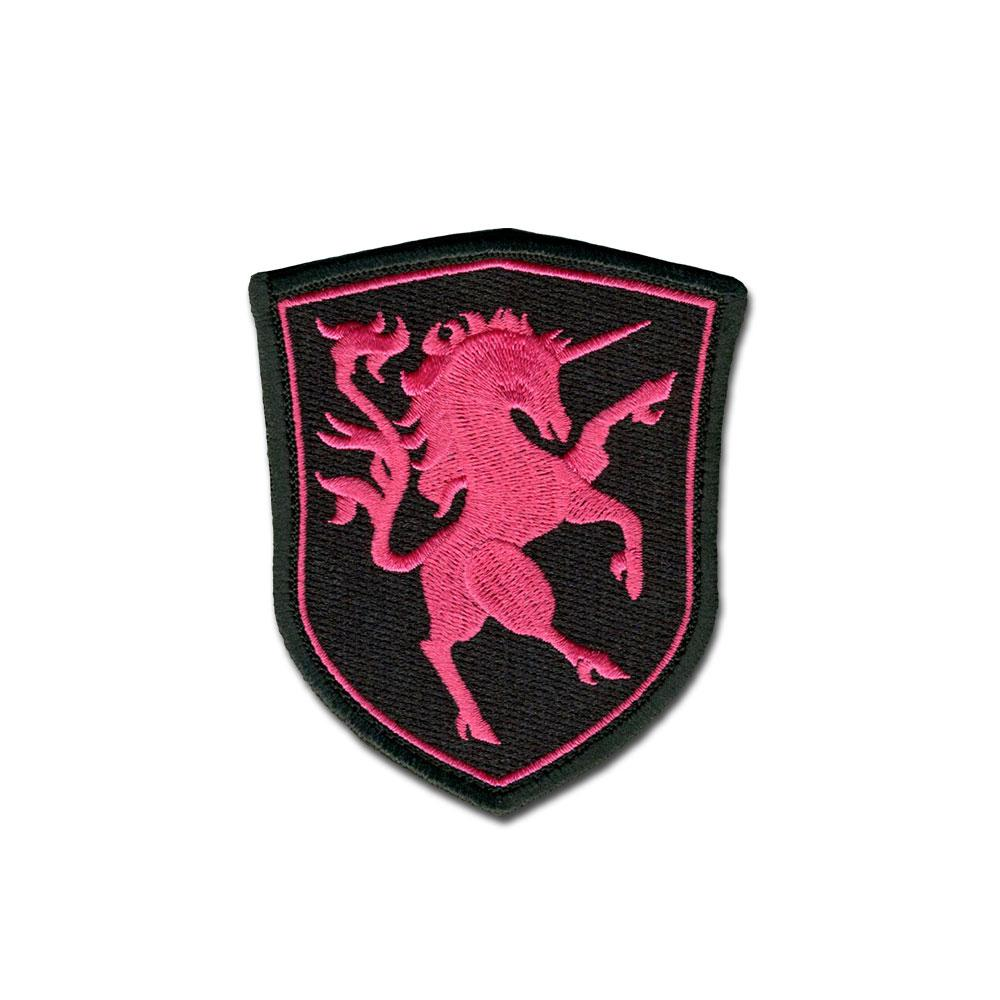 Pink Unicorn - Embroidered Morale Patch