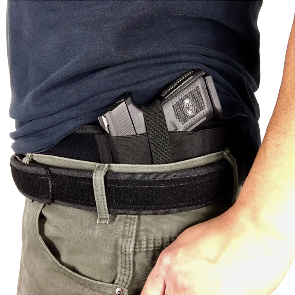 BASTION Belly Band Holster for Concealed Carry | Pistol or Revolver Wa